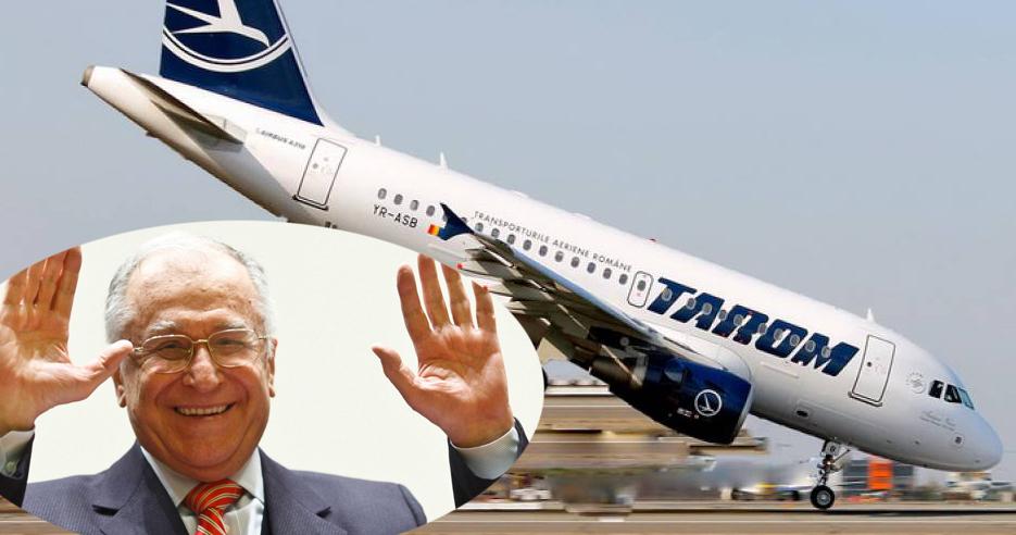 Tarom, ultimul pas spre faliment: i-a acordatun abonament viager și lui Iliescu!