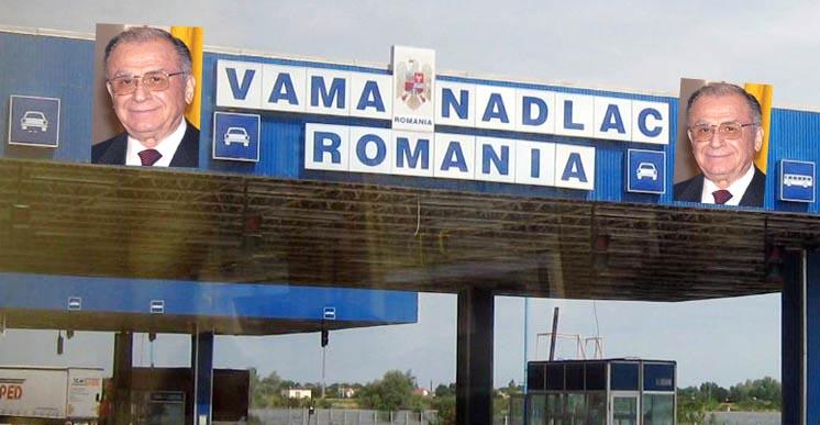 Poza lui Ion Iliescu va fi afişată în vămi pentru a demotiva coronavirusul să intre în țară!