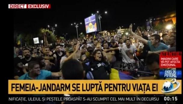 S-a făcut un an de la moartea jandarmeriței și Antena3 nu a ținut o zi de doliu!
