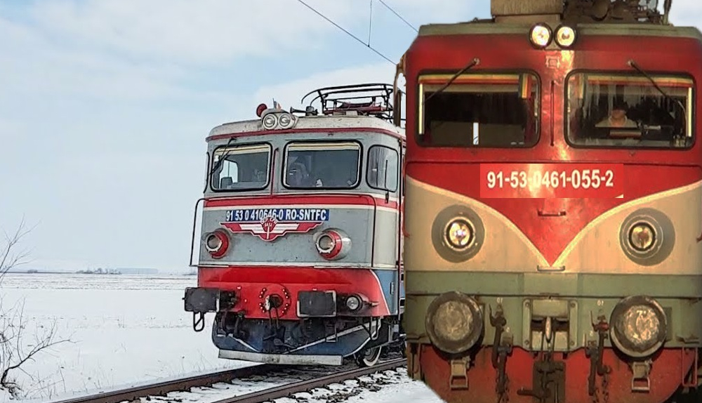 Performanță: trenul plecat alaltăieri din Timișoara spre București l-a depășit pe cel plecat ieri!