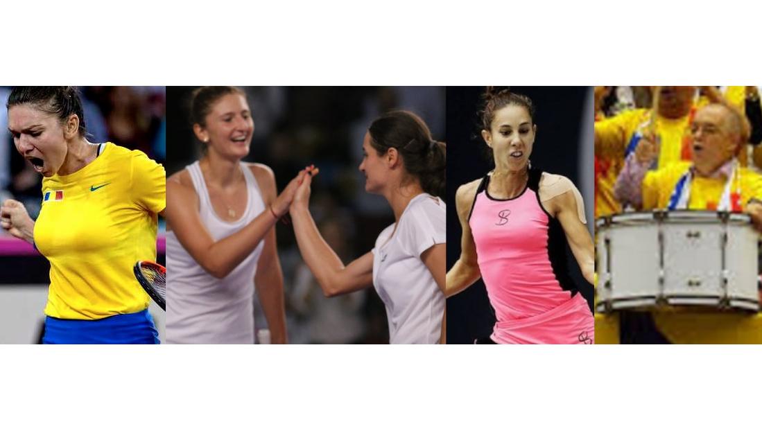 Felicitări Simona, Irina, Monica, Mihaela și toba lui Boc! Bravo fetelor, bateți și în Franța!