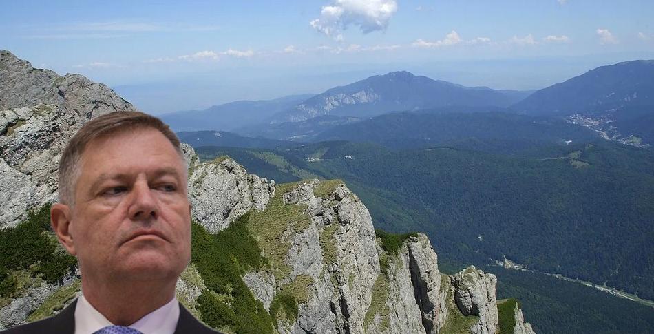 Fenomen unic în Bucegi: Iohannis a reuşit să tacă cu ecou!