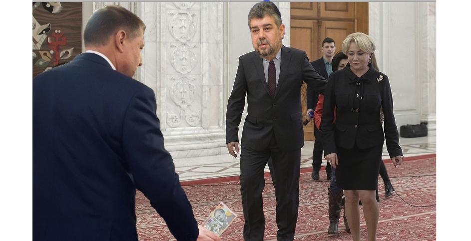 Iohannis i-a dat 10 lei lui Ciolacu crezând că a venit cu capra!