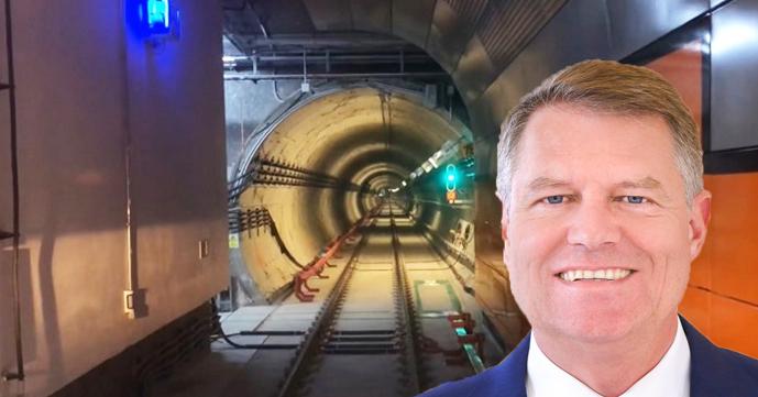 Iohannis va participa la deschiderea metroului din Drumul Taberei. Dacă ține discurs, se mai amână un an!