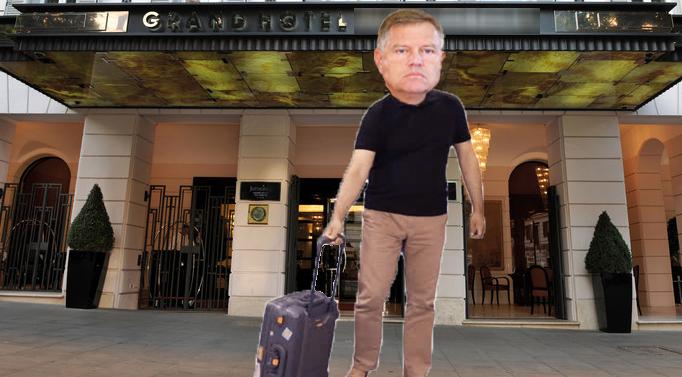 Iohannis, dat afară dintr-un hotel din Roma pentru că făcea prea multă liniște!