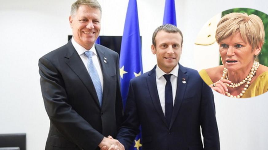 Bombă! Emmanuel Macron i-a cerut lui Iohannis numărul Monicăi Tatoiu!
