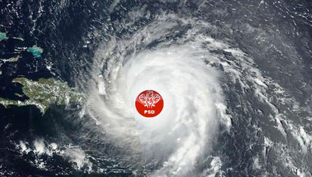 Uraganul Irma face atât de multe pagube încât americanii l-au poreclit Uraganul PSD!