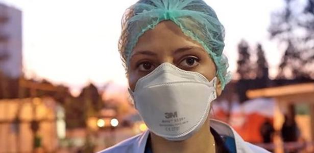 Italiancă în prima linie la spitalul din Arad - asta înseamnă vocație de medic!