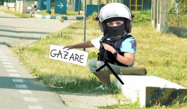 Jandarmeria oferă gazare pe litoral pentru bucureștenii care vor să-și ia concediu de la proteste!