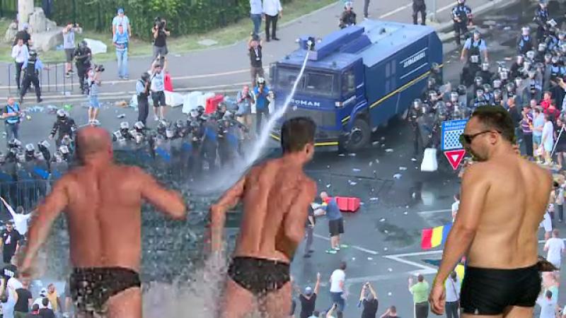 Rugăm Jandarmeria săanunțe ce areîn meniu pe 10 August, ca să știm dacă ne luăm slipul