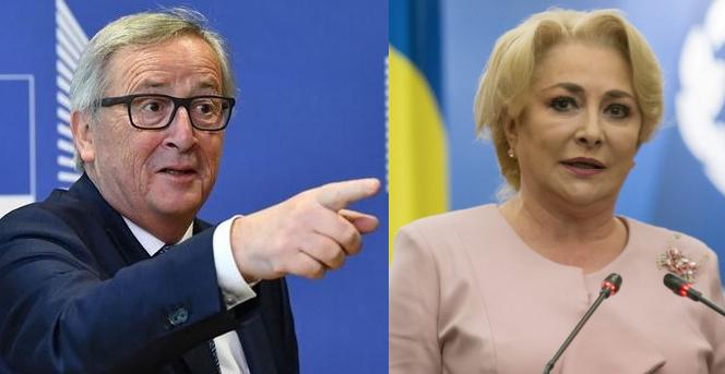 """Juncker îi răspunde Vioricăi: """"Dragnea, dă copiilor banii înapoi, nu-i mai gaza!"""""""