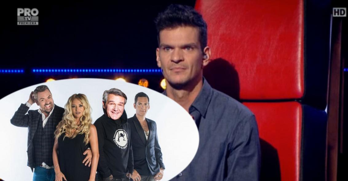 Jurații de la X Factor vor concura la Vocea României, ca să se uite și la ei cineva!