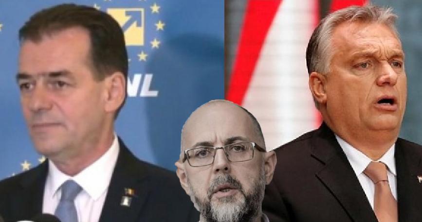 Dilemă la UDMR: pe care Orban să-l pupe în kur, pe cel de la Bucharest sau pe cel de la Budapest?
