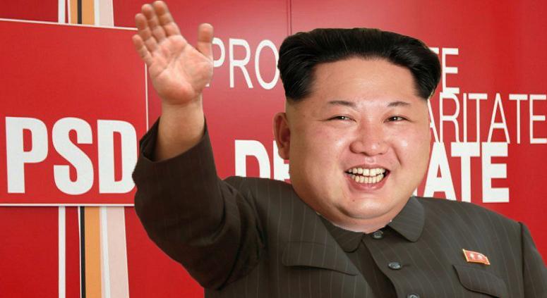 Alertă: Kim Jong-Un și-a depus candidatura la șefia PSD!