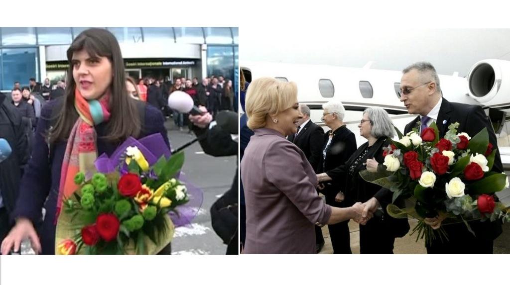 Kovesi zboară la economic.Viorica zboară cu avion de lux, la 25.000 de euro cursa, că are rău de sărăcie!