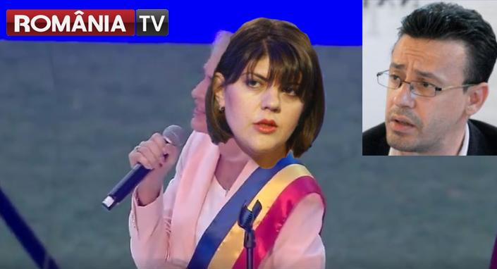 """RomâniaTV: """"Codruța Kovesi, huiduită pe Arena Națională!"""""""
