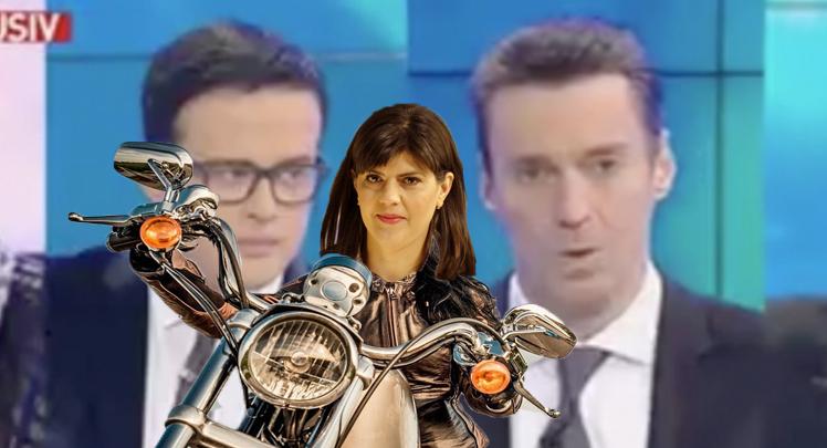 Panică la Antena3: Kovesi și-a luat motocicletă!