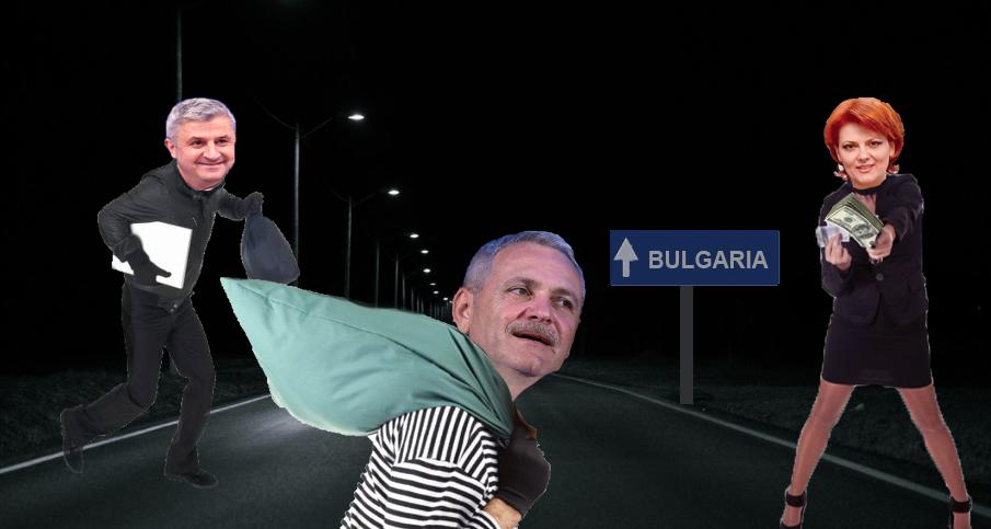 Bulgarii vor construi un gard la granița cu România, ca să nu fure PSD-ul și de la ei!