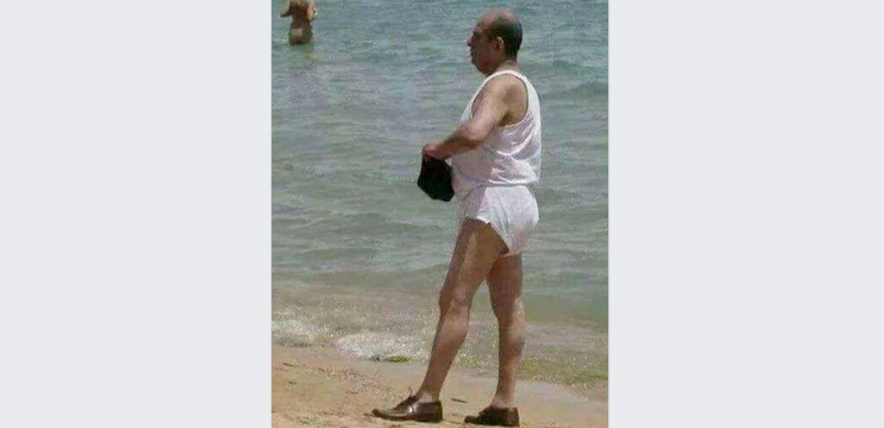 Utima fiță pe plajă la Mamaia