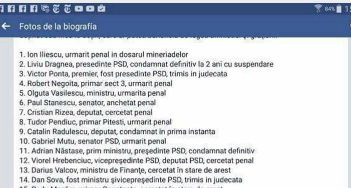 Lista penalilor care ne-au furat România!