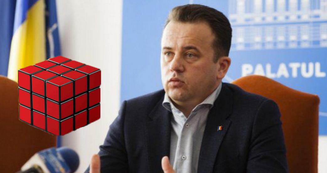 Liviu Pop e atât de idiotîncât nu poate rezolva cubul Rubik nici dacă toate fețele au aceeași culoare!