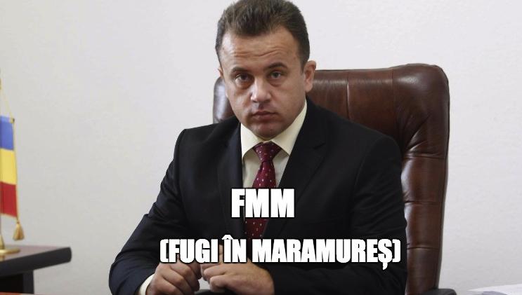 Liviu Pop, vezi căs-a terminat ziua de lucru, FMM (Fugi în Maramureș)!