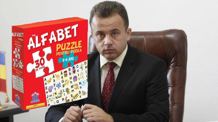 Geniu! Liviu Pop a terminat în doar 3 luni un puzzle pe care scria Între 3 și 6 ani!