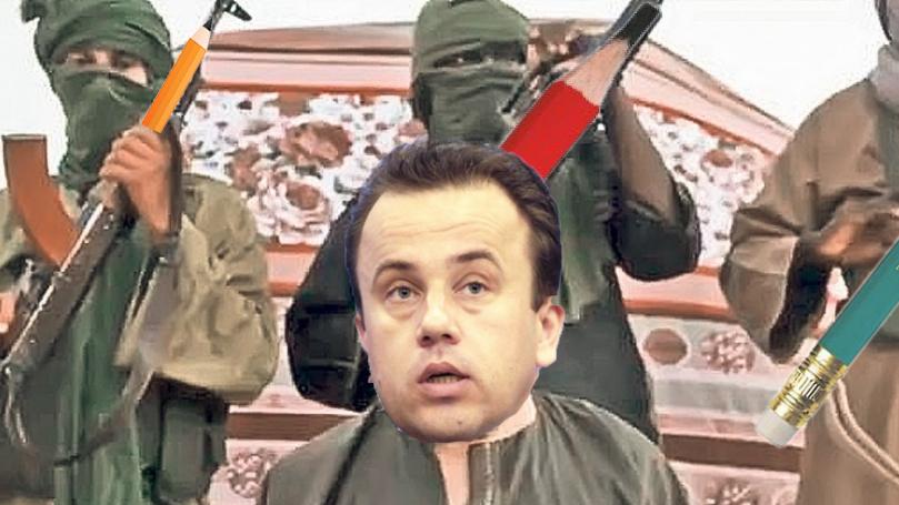 Organizația teroristă Al-Fabet l-a răpit pe Liviu Pop!