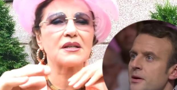 Macron s-a îndrăgostit de Irina Loghin!