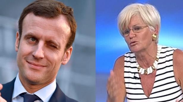 Macron a fugit cu Monica Tatoiu!