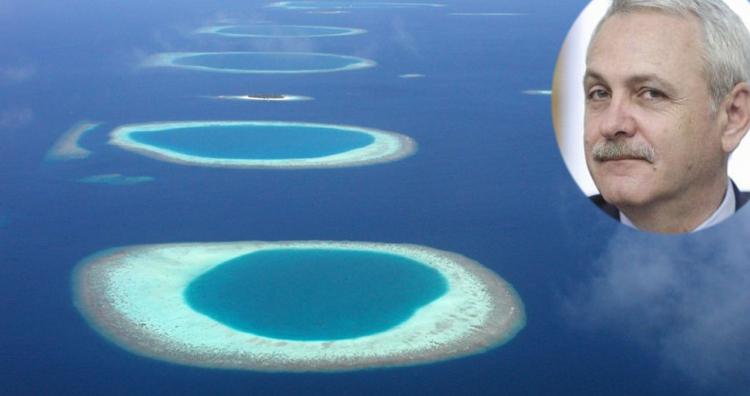 Bilanț îngrijorător în Maldive: De când e Dragnea acolo au dispărut 14 insule!