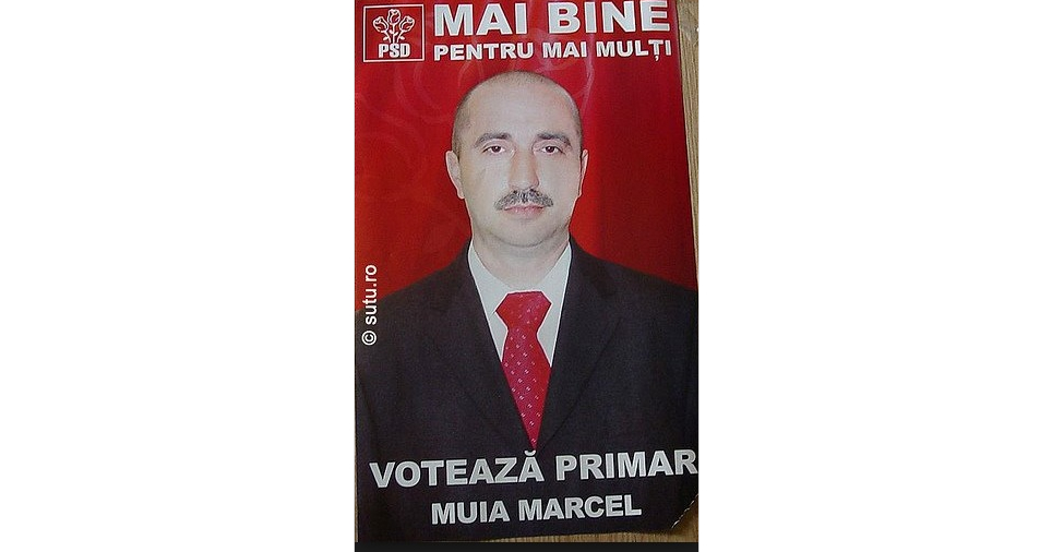 Domnul Muia Marcel a fost desemnat președinte de onoare al PSD!