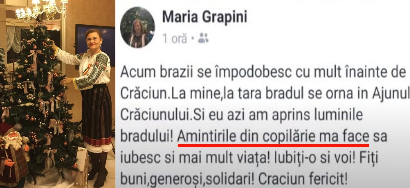 Duamna Grapini nu putește fi oprită: a tăiat gramatica în loc de porc!