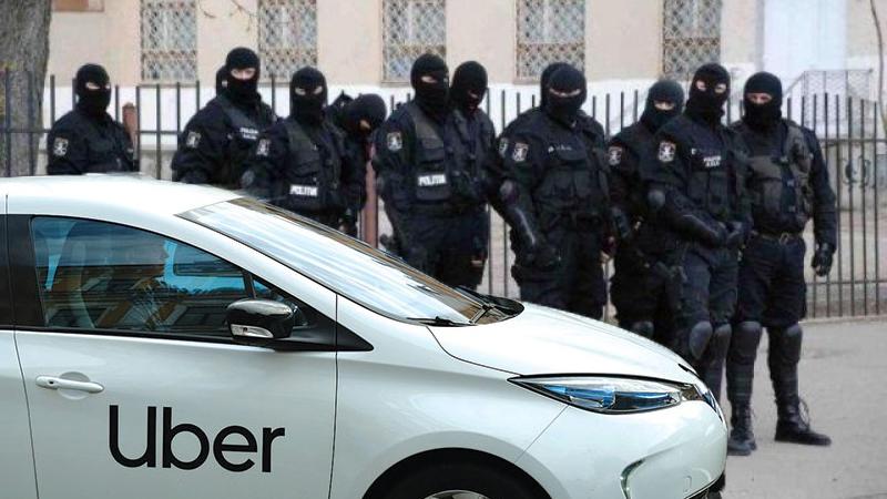 Pentru a nu mai greşi adresele la care trebuie să descindă, mascații se vor deplasa în misiune cu Uber-ul!