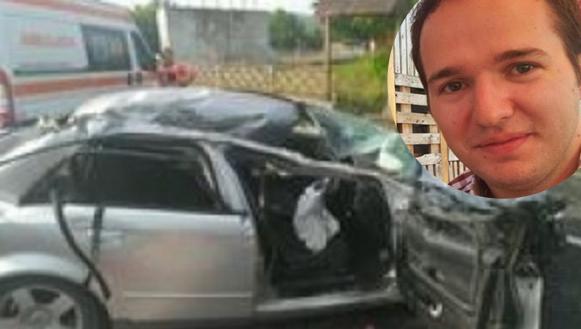 """Fiul lui Tudorel Toader a intrat cu mașina într-un podeț. CCR: """"Podețul era beat!"""""""