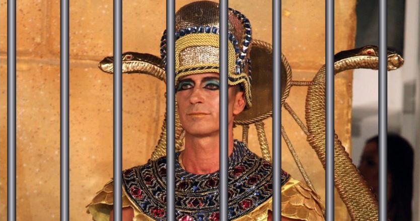 Radu Mazăre, primul faraon modern închis într-un sarcofag cu gratii!