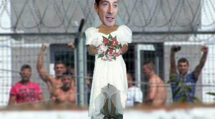 Nu se dezminte: Radu Mazăre va veni la Jilava costumat în mireasă!