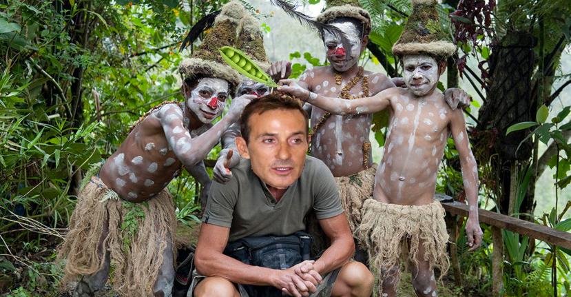 Tragedie în Madagascar: Mazăre a fost capturat de un trib de canibali vegetarieni!
