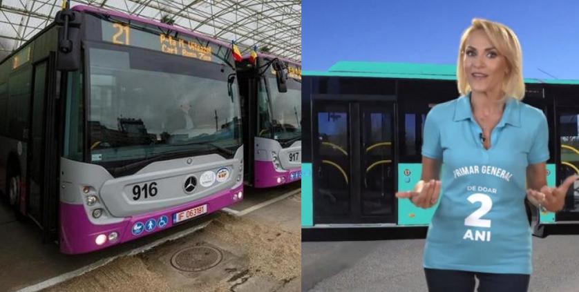 Ce sărak! Boc a luat la Cluj autobuze Mercedes mai ieftine și mai bune decât Otokarele lu' Firea