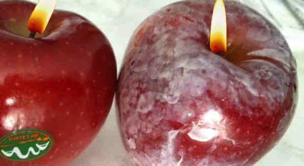 Merele de la supermarket au atât de multă ceară pe ele încât vor putea fi vândute şi în biserici, ca lumânări!