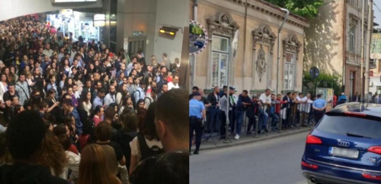 20 mai, zi de lucru: români mergând la muncă cu metroul vsPSD-iști susținând un infractor la ÎCCJ
