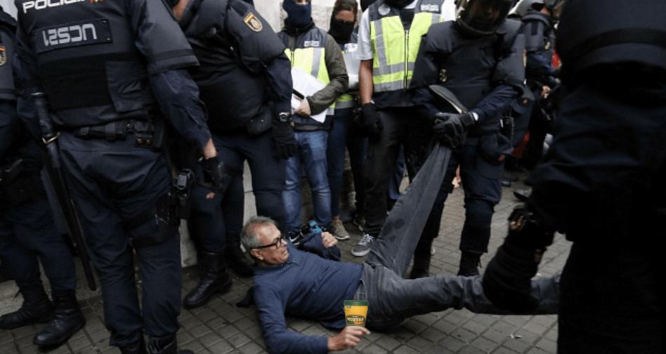 Au reînceput bătăile în Barcelona, din cauza unui român care nu a știut să ceară mici în catalană!