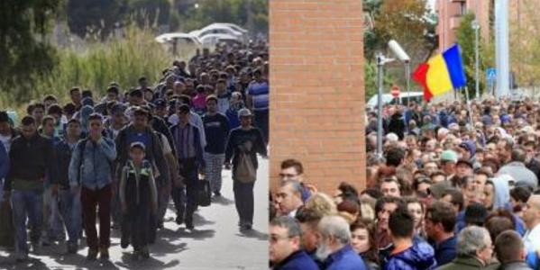 4 milioane de oameni au plecat din Siria din cauza ISIS. Din România au plecat 5,6 milioane din cauza politicienilor