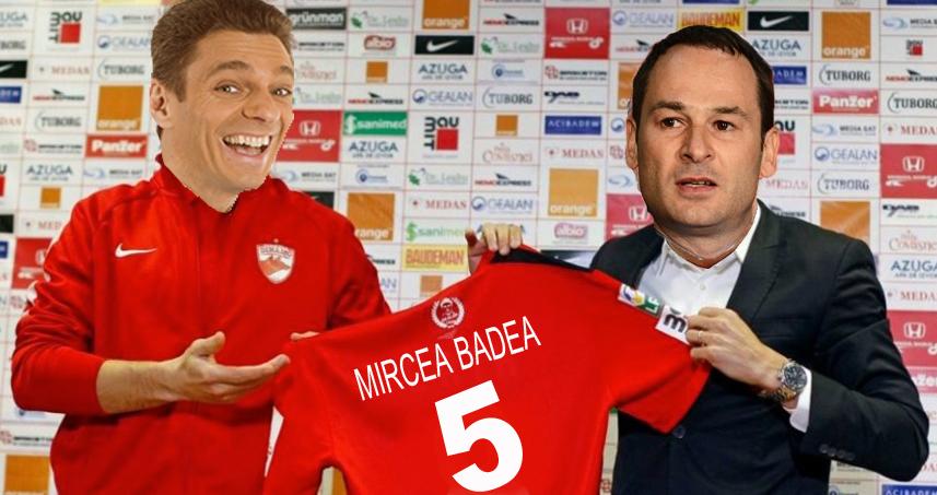 Mircea Badea s-a transferat la Dinamo, că e obișnuit să ia bătaie!