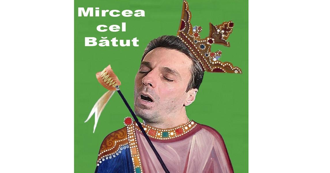 """Mircea cel Bătut va fi introdus în manualele de istorie: """"A domnit 5 secunde, apoi a dormit!"""""""