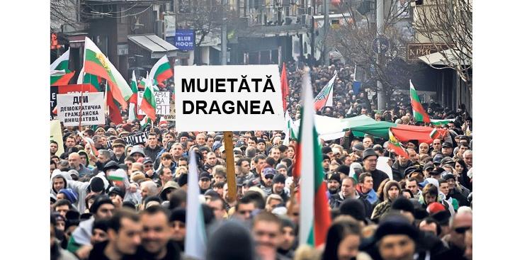 Miting și în Bulgaria: M_IETĂTĂ Dragnea!