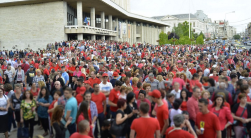 PSD face miting la Craiova. La Cluj nu are curaj