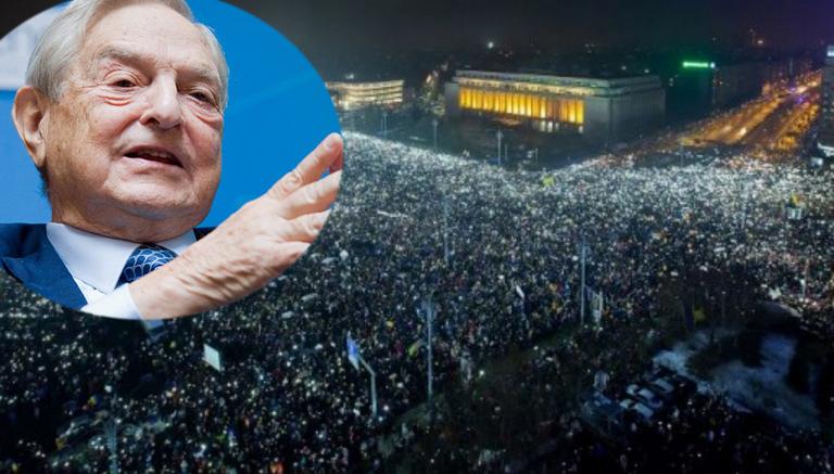 Va fi cel mai mare miting din istorie: Soros dă 30 de lei de câine și 15 lei de PSD-ist!