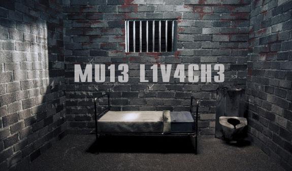 Într-o celulă de la Jilava a apărut mesajul MU13L1V4CH3! Știe cineva suedeza? Ce înseamnă?