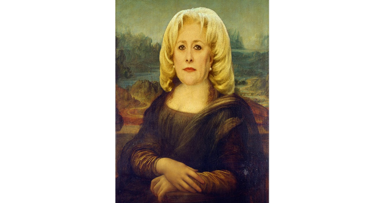 Mona Lisa din Videle. Din orice unghi o privești, pare la fel de proastă!